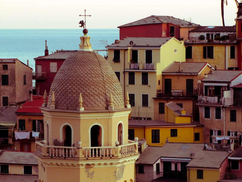 Rooftops in the Cinque Terre