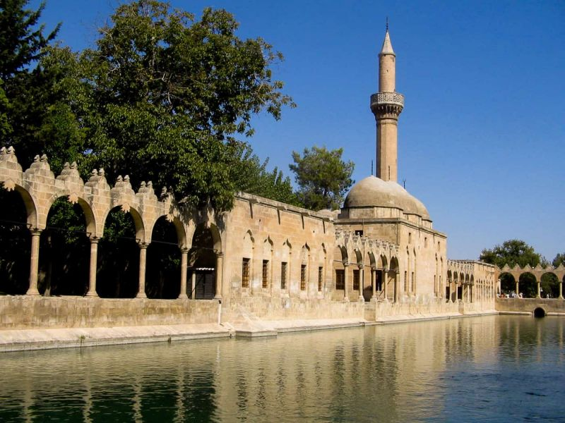 Balikli Göl, the Pool of Abraham, in Urfa