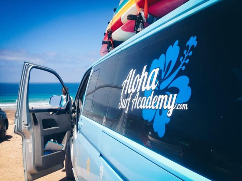 Aloha surf camp van, Fuerteventura