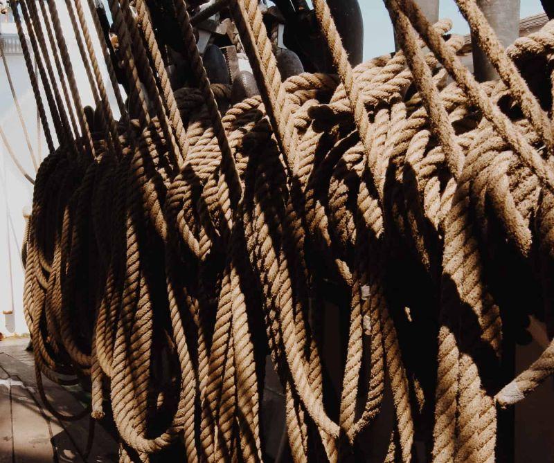 Tall Ship Sailing in the Balearics