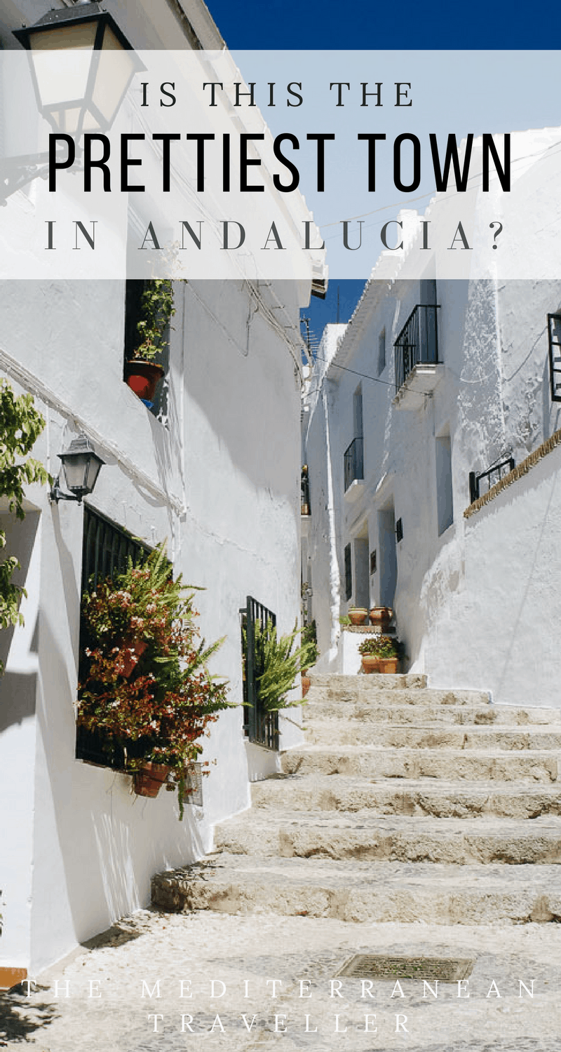 With its whitewashed walls, mountain views, red slate roofs and geranium displays, is Frigiliana the prettiest town in Andalucia?