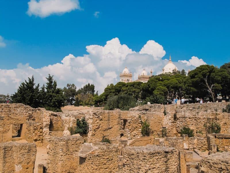 Byrsa Hill, Carthage Archaeological Site, Tunisia
