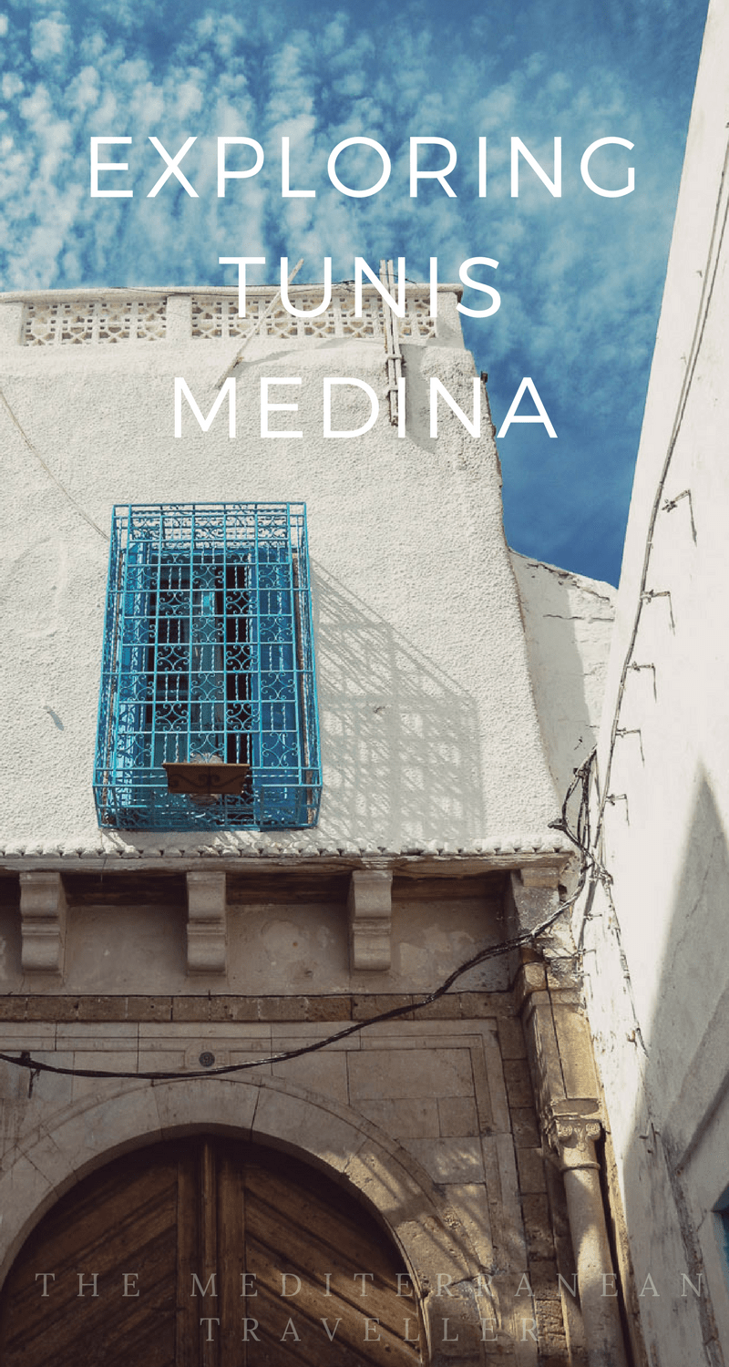 Getting lost in the souks and alleyways of Tunis Medina, one of the main attractions of Tunisia's capital.