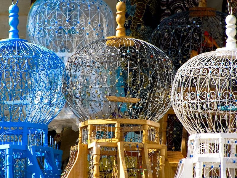 Birdcages for sale in Sidi Bou Said