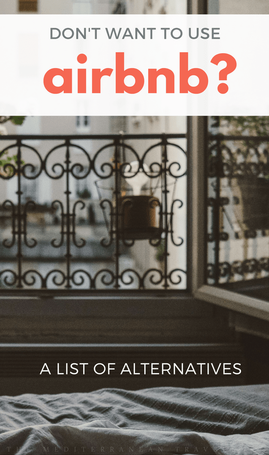 Don't Want to Use Airbnb? Here's a list of alternative accommodation booking sites