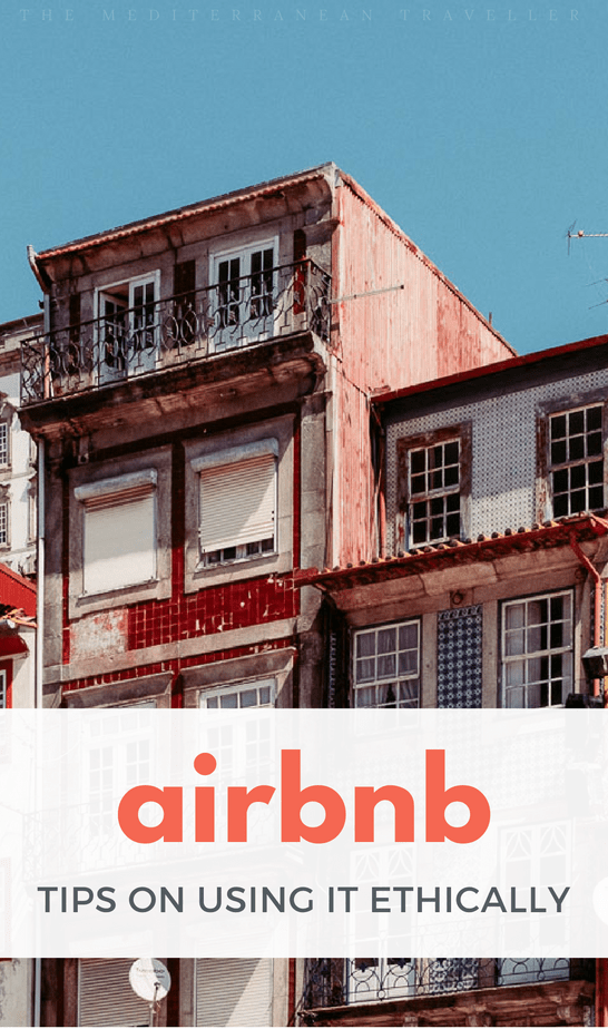 Is it possible to use Airbnb ethically in Europe? A look at some of the issues.