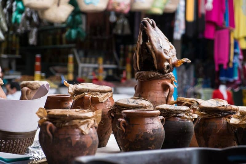 Tangia pots in Mechoui Alley | Marrakech: A Foodie's Guide