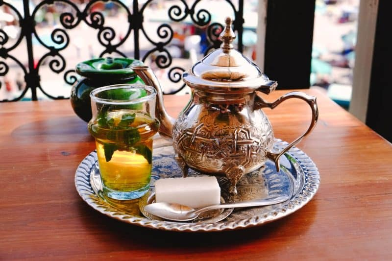 Moroccan mint tea | Marrakech: A Foodie's Guide