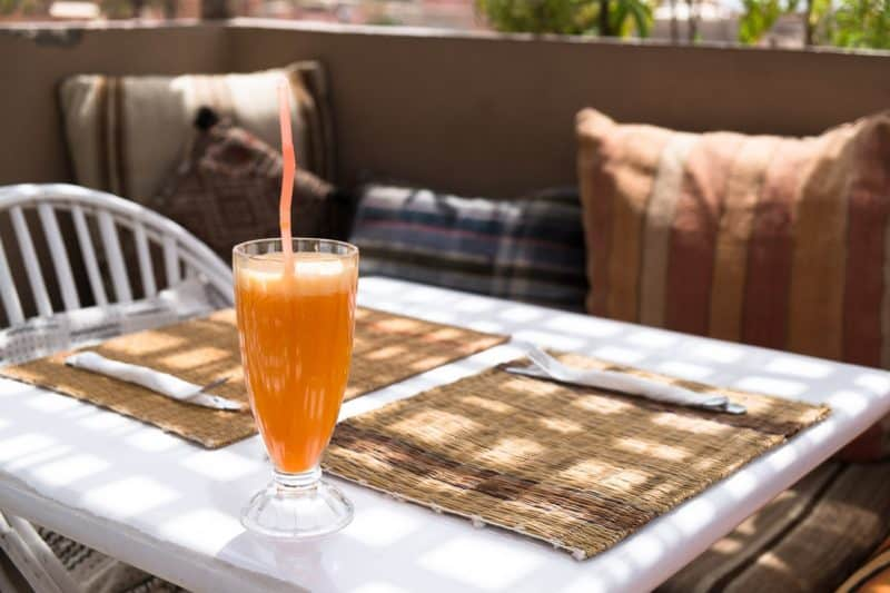 Orange juice at Atay Cafe | Marrakech: A Foodie's Guide