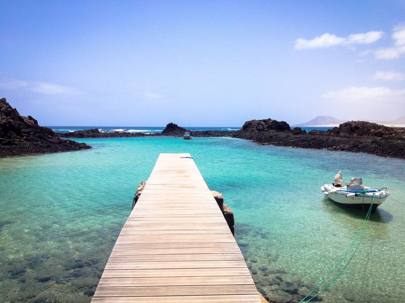 Beautiful jetty on Isla de Lobos, Fuerteventura | An Unspoilt Guide to Fuerteventura | The Mediterranean Traveller