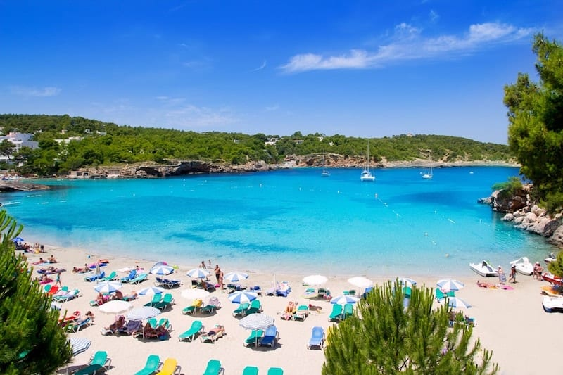 Cala Portinatx beach, Menorca