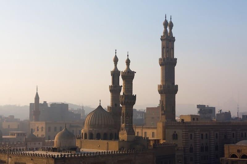Minarets of Cairo's skyline