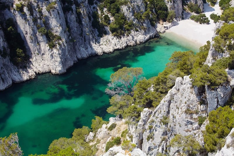 Calanques En Vau in Provence