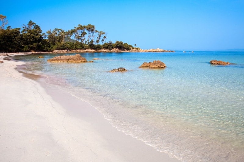 Ajaccio beach, Corsica