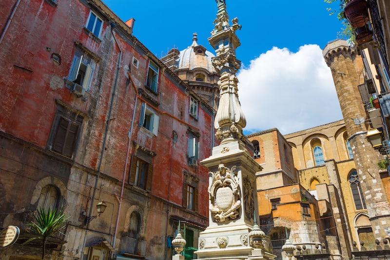 piazza in Napoli