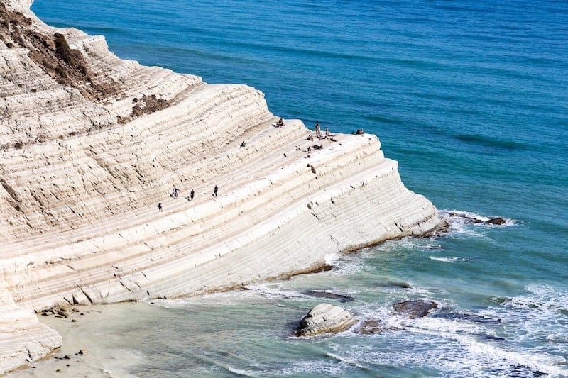 The white rocks of Scala dei Turchi, Sicily