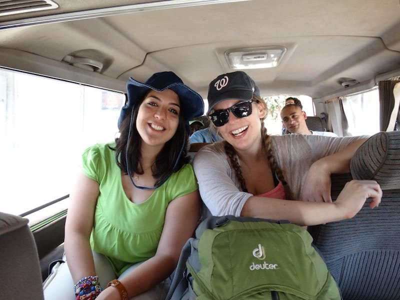 Passainte and Christina of travel blog Why Not Egypt