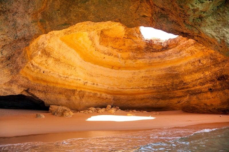 Sea caves of Praia de Benagil