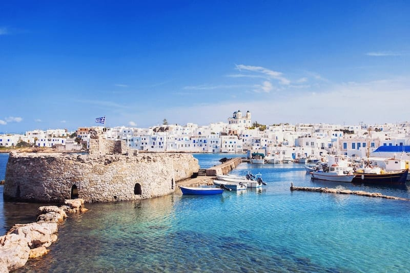Attractive Noussa on Paros