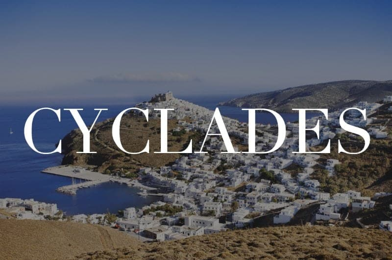 Cyclades islands header