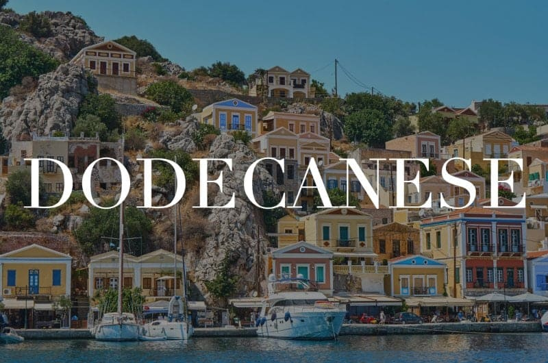 Dodecanese islands header