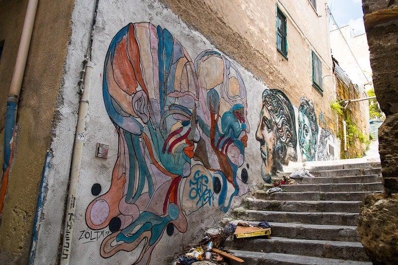 Street art in Il Capo