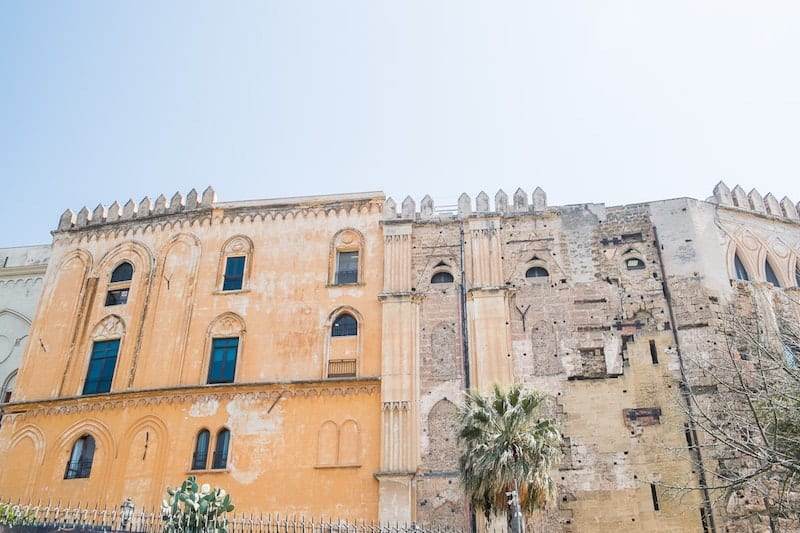 Norman palace in Sicily
