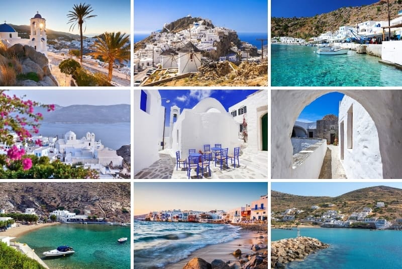 20 Beautiful White Villages In Greece The Mediterranean