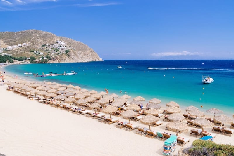 Best Island Beaches For Partying Mykonos St Barts: 20 Best White Sand Beaches In Europe
