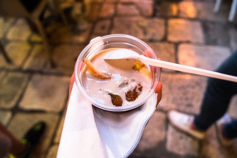 Dessert in Dubrovnik