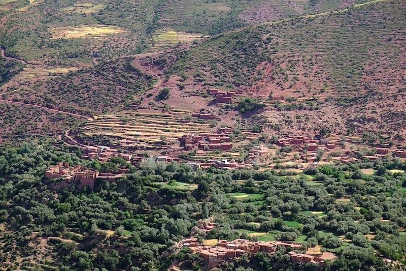 Countryside outside Marrakech