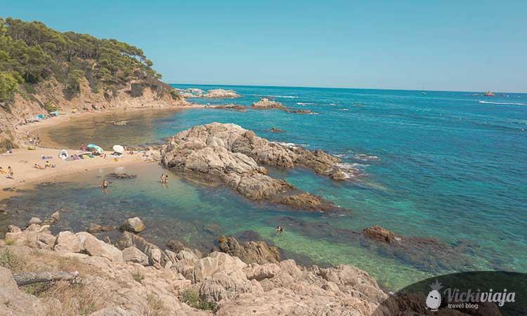 Cala Estreta beach, Costa Brava