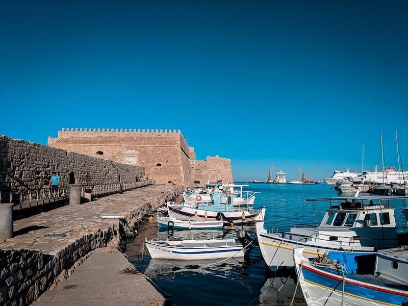 Heraklion's Venetian Fortress