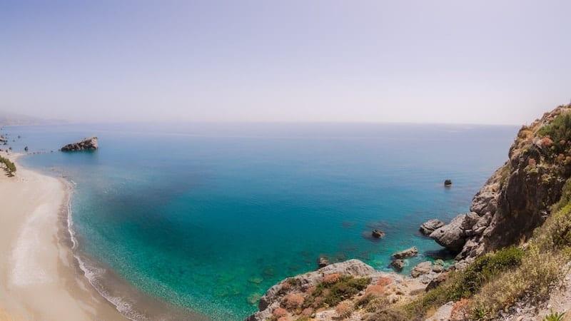 Preveli beach on Crete