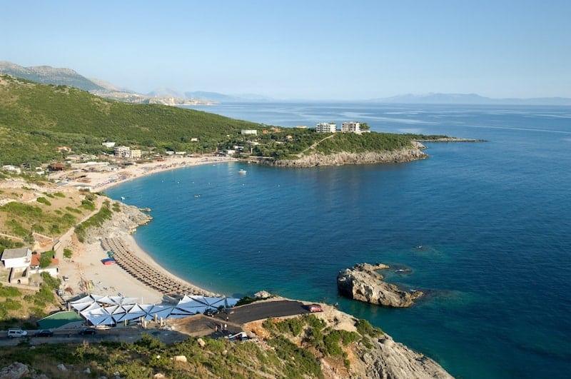 Jala Bay in Albania