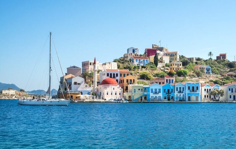Kastellorizo from the water