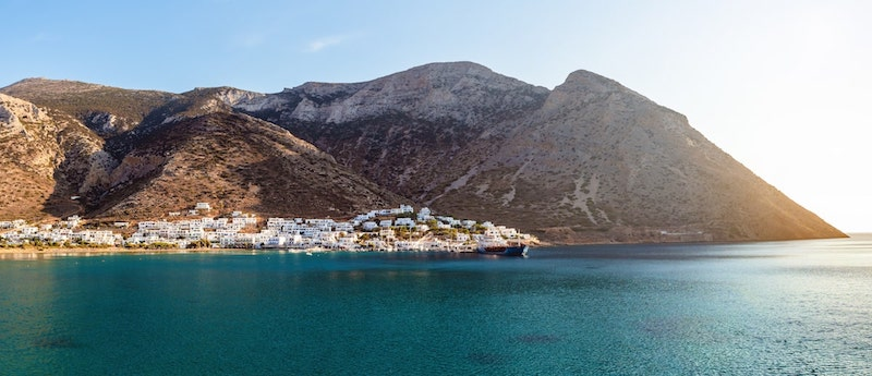 Pretty port of Kamares on Sifnos