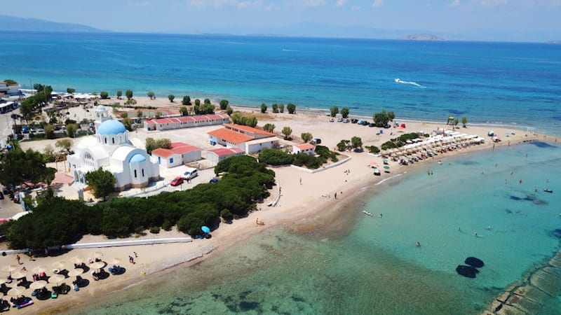 Skala from the air