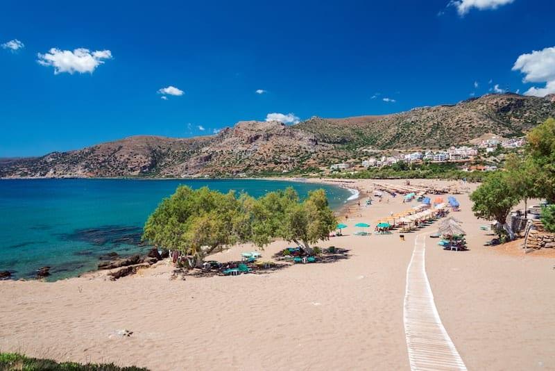 Paleochora on Crete