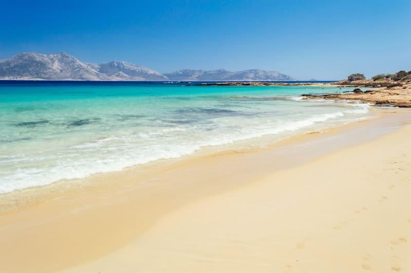 A dreamy beach on Koufonisia