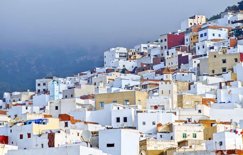 White houses of Tetouan