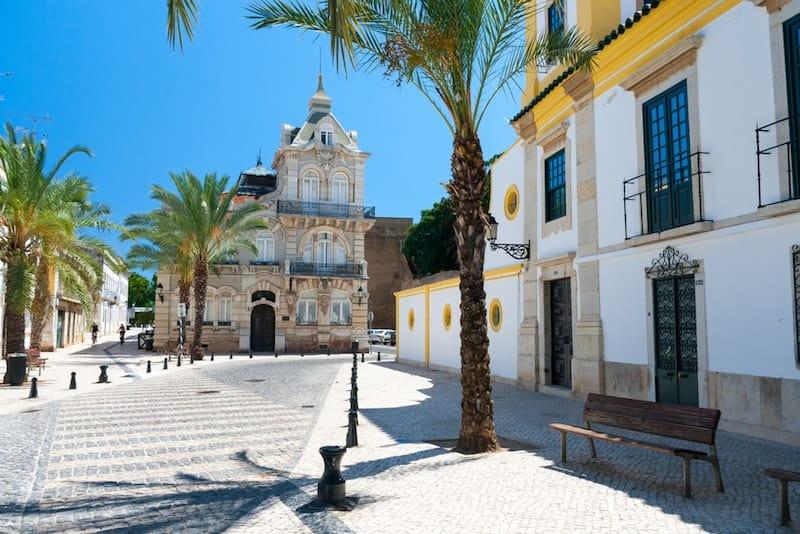 Faro's whitewashed old town