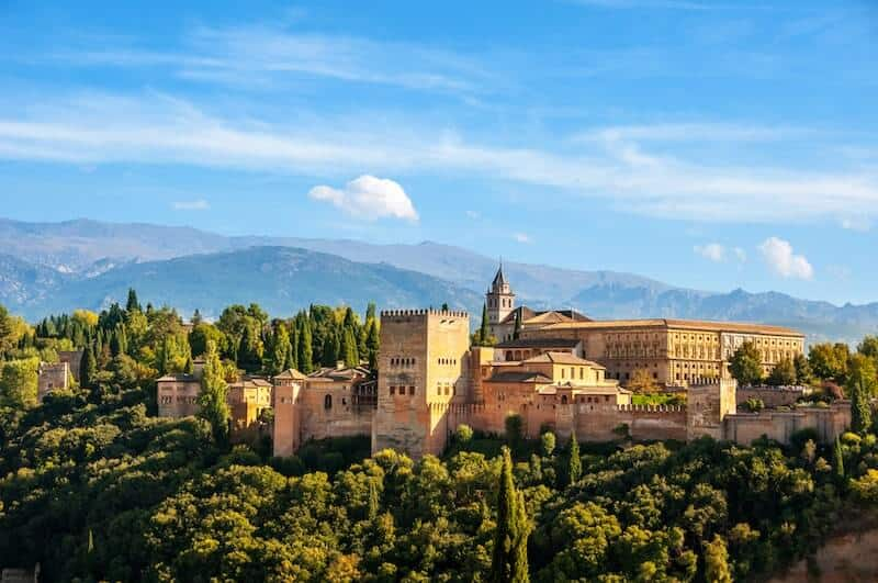 Granada's hilltop Alhambra