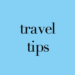 image link to posts about travel tips