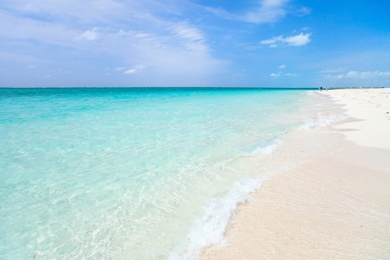 Crystal clear waters of Grace Bay, Turks and Caicos