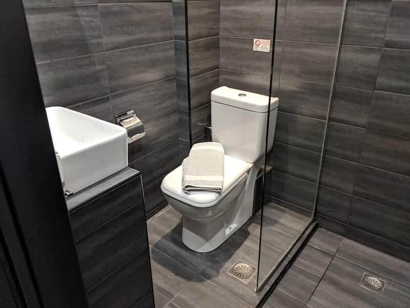 Bathroom in Skiathos Hotel