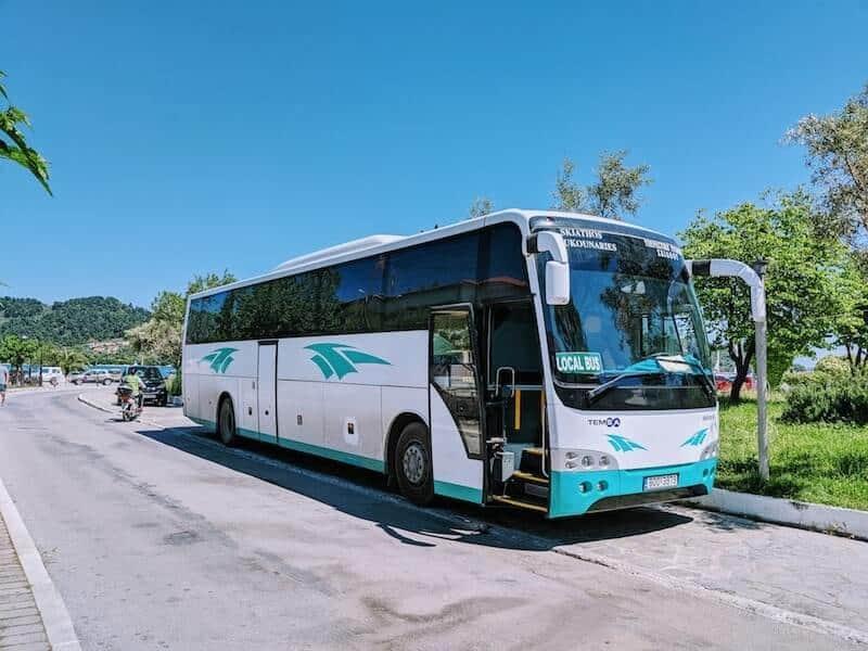 Skiathos KTEL bus