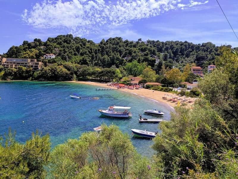 Tzaneria beach