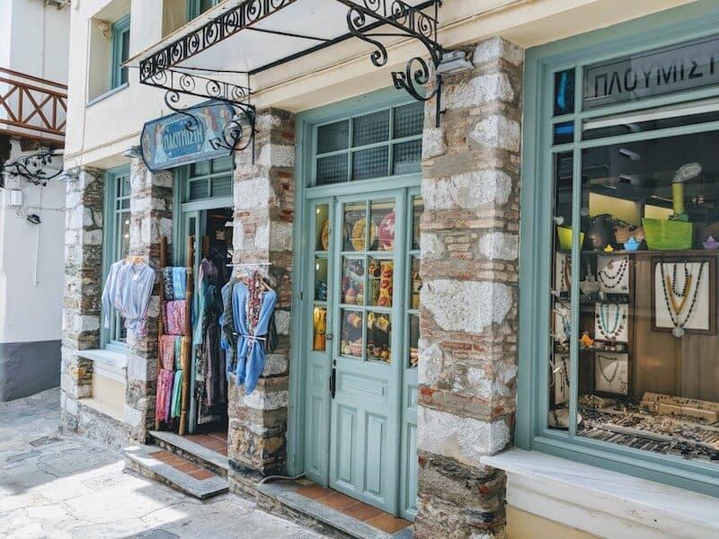 jewellery shop in Skopelos Town