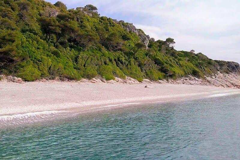 Milia Beach on Skopelos